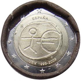 2 Euro Španielsko 2009 - Hospodárska a menová únia