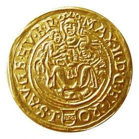 Gold replica Maximilián II. HS (mint Košice)