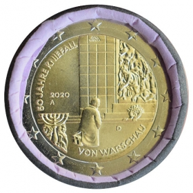 "2 Euro Germany ""A"" 2020 - Warsaw genuflection"