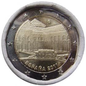 2 Euro Španielsko 2011 - Dvor levov v Granade