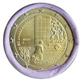 "2 Euro Germany ""J"" 2020 - Warsaw genuflection"