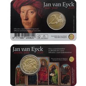 "2 Euro Belgicko ""NL/EN"" 2020 - Jan Van Eyck"
