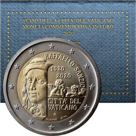 2 Euro Vaticano 2020 - Raffaello Sanzio