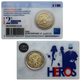 2 Euro Francúzsko 2020 - Lekársky výskum