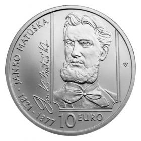 10 Eur 2021 - Janko Matúška, Bežná kvalita
