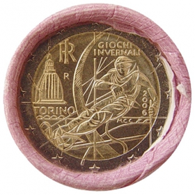 2 Euro Taliansko 2006 - Zimné olympijské hry v Turíne