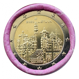 2 Euro Lithuania 2020 - Hill of Crosses
