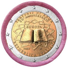 2 Euro Taliansko 2007 - Rímska zmluva