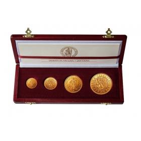 Československé dukáty z roku 1923 medailéra Jana Čejka, súťažný návrh