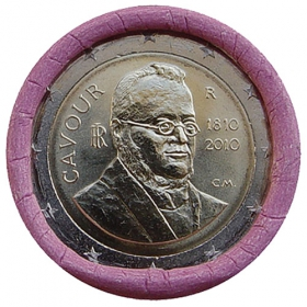 2 Euro / 2010 - Taliansko - Camillo Benso