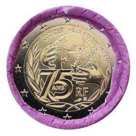 2 Euro Francúzsko 2021 - UNICEF