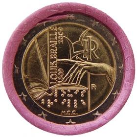 2 Euro Taliansko 2009 - Louis Braille