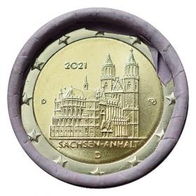 "2 Euro Nemecko ""D"" 2021 - Katedrála Magdeburg"