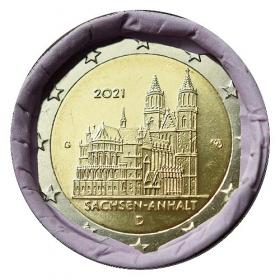 "2 Euro Nemecko ""G"" 2021 - Katedrála Magdeburg"