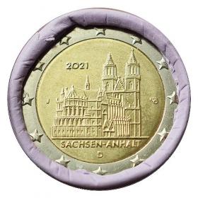 "2 Euro Nemecko ""J"" 2021 - Katedrála Magdeburg"