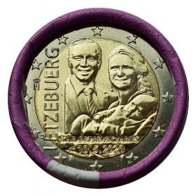 2 Euro Luxembursko 2020 - Princ Charles