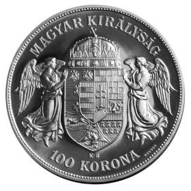 Collector's silver 100 Crown Franz Joseph I ..