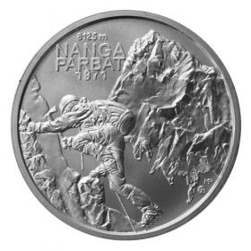 Silver 10 Eur 2021 - Nanga Parbat