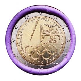 2 euro Portugalsko 2021 - Olympijské hry Tokio