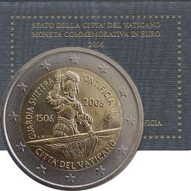 2 Euro / 2006 - Vatikán - Švajčiarska garda
