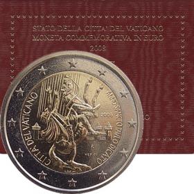 2 Euro Vatikán 2008 - Rok Svätého Pavla
