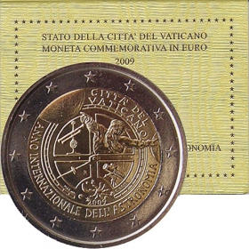 2 Euro / 2009 - Vatican - International year of astronomy