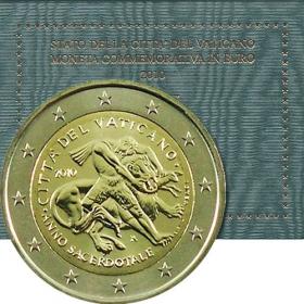 2 Euro / 2010 - Vatikán - Rok kňazov