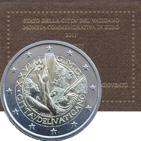 2 Euro Vatikán 2011 - Svetový deň mládeže v Madride