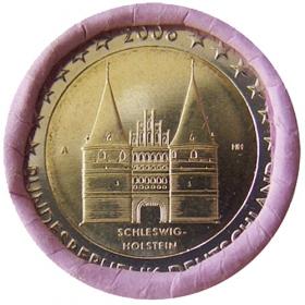 2 Euro / 2006 - Germany - Schleswig-Holstein: Holstentor Lübeck 'A'