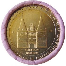 2 Euro / 2006 - Germany - Schleswig-Holstein: Holstentor Lübeck 'D'