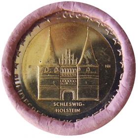 """2 Euro Nemecko """"F"""" 2006 - Šlezvicko-Holštajnsko: Holštajnská brána"""