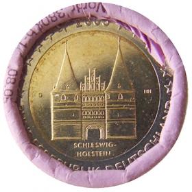 """2 Euro Nemecko """"G"""" 2006 - Šlezvicko-Holštajnsko: Holštajnská brána"""