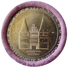 """2 Euro Nemecko """"J"""" 2006 - Šlezvicko-Holštajnsko: Holštajnská brána"""