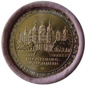 "2 Euro Nemecko ""J"" 2007 - Meklenbursko-Predpomoransko: Zámok Schwerin"