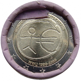 """2 Euro Nemecko """"A"""" 2009 - Hospodárska a menová únia"""