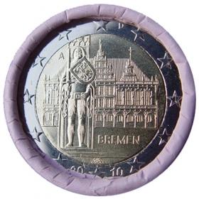 """2 Euro Nemecko """"A"""" 2010 - Brémy"""