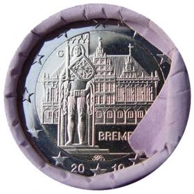 """2 Euro Nemecko """"G"""" 2010 - Brémy"""