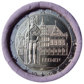 2 Euro / 2010 - Germany - Bremen 'J'