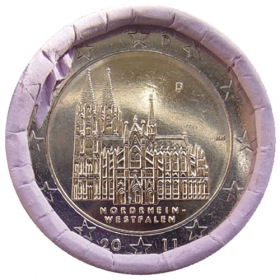2 Euro / 2011 - Germany - North Rhine-Westphalia: Cologne Cathedral 'D'