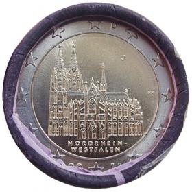 """2 Euro Nemecko """"J"""" 2011 - Severné Porýnie-Vestfálsko: Kolínska katedrála"""