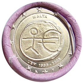 2 Euro / 2009 - Malta - Economic and Monetary Union