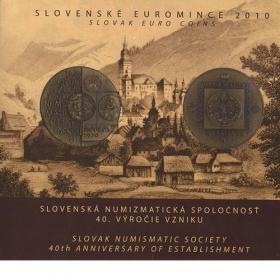 Sada 2010 Slovenská numizmatická spoločnosť, Slovenské euromince