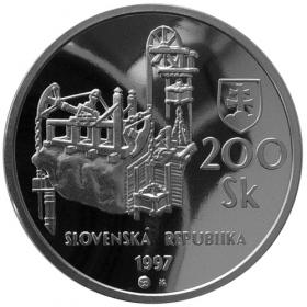 200 Sk 1997 - Banská Štiavnica a technické pamiatky jej okolia - Proof