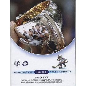 Sada Euro / 2011 - Slovenské euromince - Majstrovstvá sveta IIHF na Slovensku - Proof