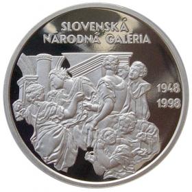 200 Sk 1998 - 50. výročie založenia Slovenskej národnej galérie - Proof
