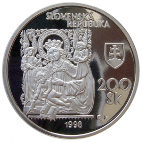 200 Sk / 1998 - Slovak National Gallery - Proof