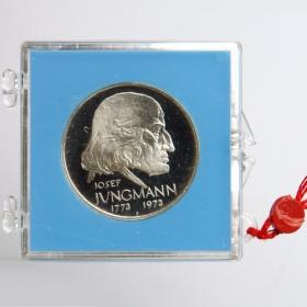 50 Kčs 1973 - 200. výročie narodenia J. Jungmanna - Proof