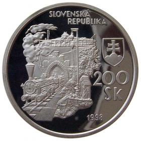 200 Sk / 1998 - Prvý parný vlak - Proof