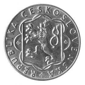 25 Kčs / 1954 - 10. výročie SNP - Bežná kvalita