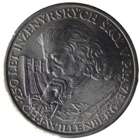 10 Kčs / 1957 - Ch. J. Willenberg - BU